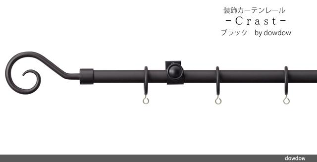装飾レール【クラストCセット・ブラック】
