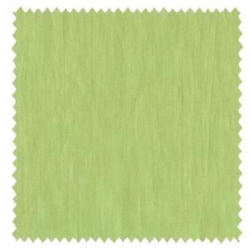 【ナチュラル】リネン(麻)の無地のドレープカーテン【SC-0004】イエローグリーン