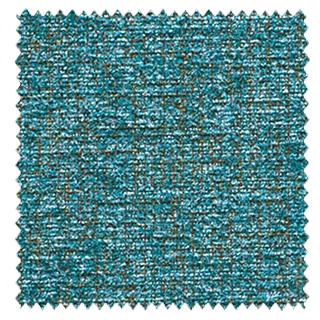 【シンプル モダン】ラグジュアリーな無地のドレープカーテン&シェード【SC-0305】ターコイズブルー