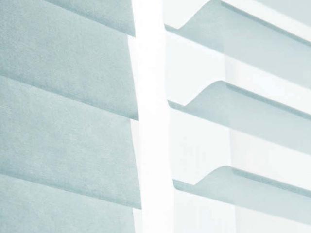 ファブリック・ブラインド&ロールスクリーン【新感覚カーテン】エレガントな採光【SH-1006】ベビーブルー