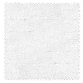 【フレンチシック】白いシャンタンのドレープカーテン&シェード【UX-3639】ホワイト