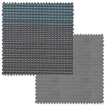 【オーダーカーテン新築セット】シンプルモダンのコーディネート【SM-21】4窓セット