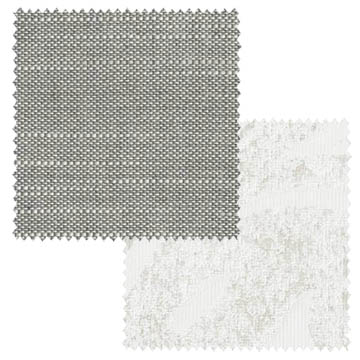 【オーダーカーテン新築セット】麻のシャビーシックのコーディネート【SC-03】2窓セット