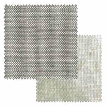 【オーダーカーテン新築セット】麻のナチュラル・ビンテージのコーディネート【NV-02】2窓セット