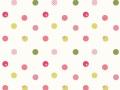 ドレープカーテン【北欧モダン】可愛くデザインされた水玉柄【GS-2226】ピンク系色