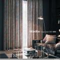 【アンティーク クラシック】ペイズリーのビンテージ・プリントのドレープカーテン【UX-3081】ブルー&ワインレッド