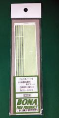 BONA/505/205系横浜線用 帯デカール(先頭車用)
