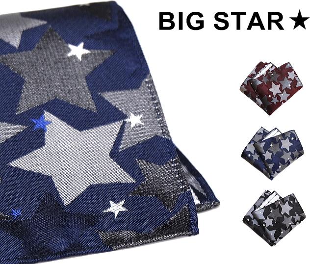 ポケットチーフ,星柄 ポケットチーフ