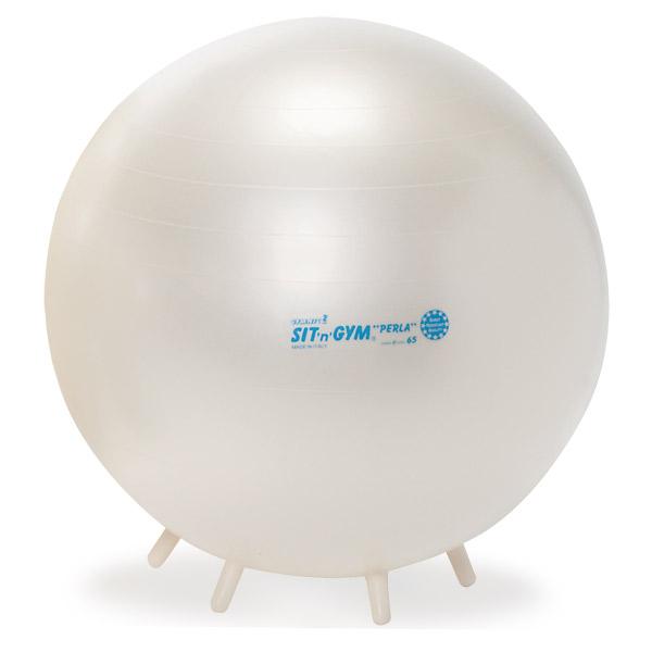 シッティングジム 65cm 白(足付きバランスボール)