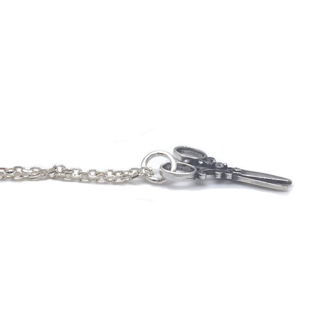 ハサミのネックレス、シルバー925製、SND005