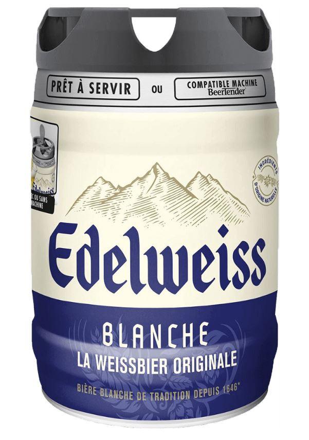 超限定再販売『ヴァイツェン(白)ビール』エーデルヴァイス樽生5リットル=次回入荷未定