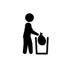 家庭での廃棄方法