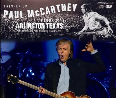 PAUL McCARTNEY - FRESHEN UP US TOUR 2019: ARLINGTON TEXAS (3CDR+1DVDR)