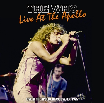 THE WHO - LIVE AT THE APOLLO 1975 (2CDR)
