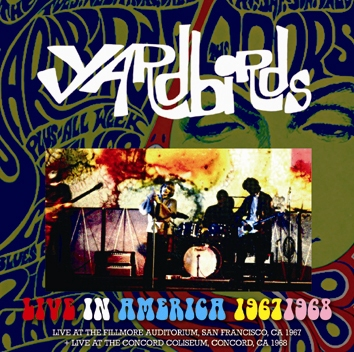 YARDBIRDS - LIVE IN AMERICA 1967/1968(2CDR)
