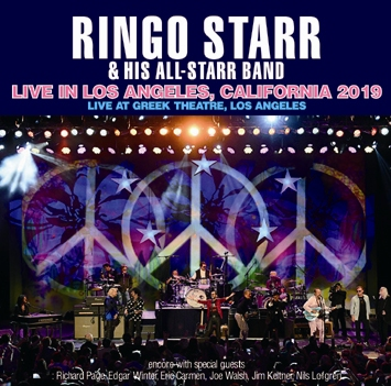 RINGO STARR & HIS ALL STARR BAND - LIVE IN LOS ANGELES, CALIFORNIA 2019(2CDR)