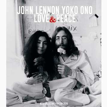 JOHN LENNON - LOVE AND PEACE: NEW COLLECTOR'S EDITION 2020 (1CDR)
