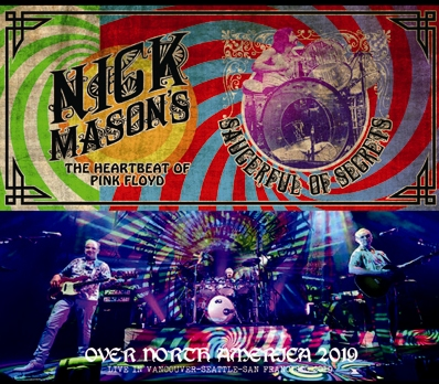 NICK MASON'S SAUCERFUL OF SECRETS - OVER NORTH AMERICA 2019 (6CDR)