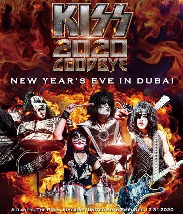 KISS - 2020 GOODBYE NEW YEAR'S EVE IN DUBAI (1BDR)