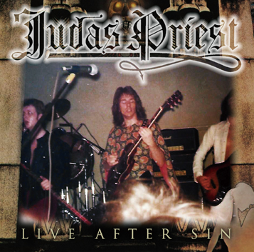 JUDAS PRIEST - LIVE AFTER SIN (1CDR)