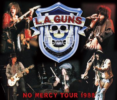 L.A. GUNS - NO MERCY TOUR 1988(1CDR+2DVDR)