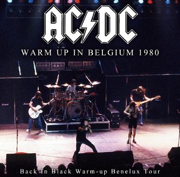AC/DC - WARM UP IN BELGIUM 1980 (2CDR)