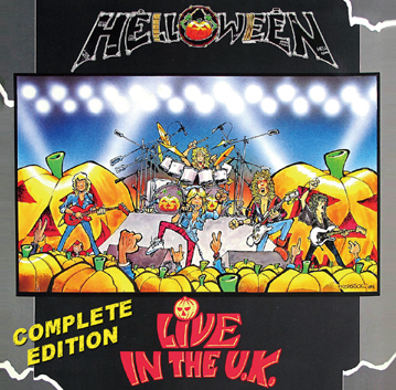 HELLOWEEN - LIVE IN THE U.K. - COMPLETE EDITION(2CDR)