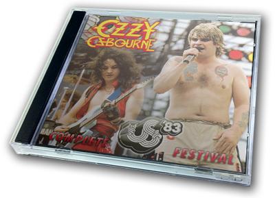 OZZY OSBOURNE - COMPLETE US FESTIVAL '83
