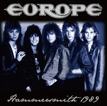 EUROPE - HAMMERSMITH 1989 (1CDR)