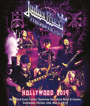 JUDAS PRIEST - HOLLYWOOD 2019 (1BDR)