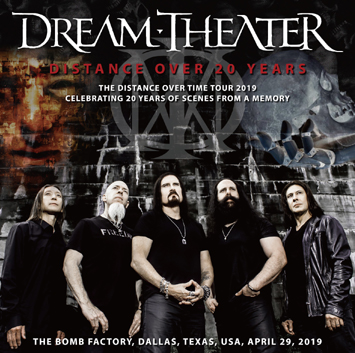 DREAM THEATER - DISTANCE OVER 20 YEARS (2CDR)