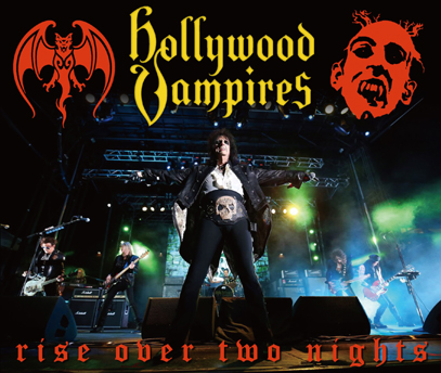 HOLLYWOOD VAMPIRE - RISE OVER TWO NIGHTS (3CDR)