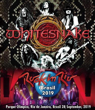 WHITESNAKE - ROCK IN RIO BRASIL 2019 (1BDR)