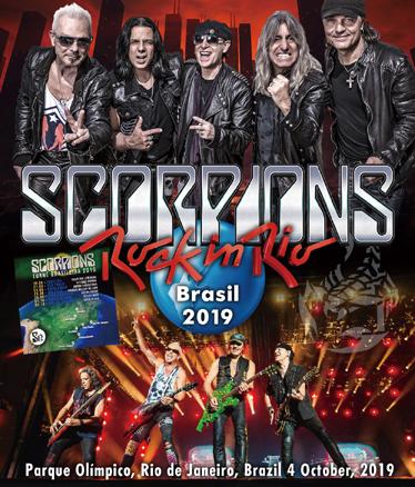 SCORPIONS - ROCK IN RIO BRASIL 2019 (1BDR)