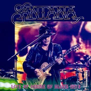 SANTANA - LIVE AT HOUSE OF BLUES 2019 (2CDR)