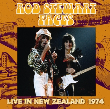 ROD STEWAR & FACES - LIVE IN NEW ZEALAND 1974 (1CDR)