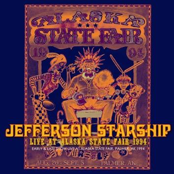 JEFFERSON STARSHIP - LIVE AT ALASKA STATE FAIR 1994 (2CDR)