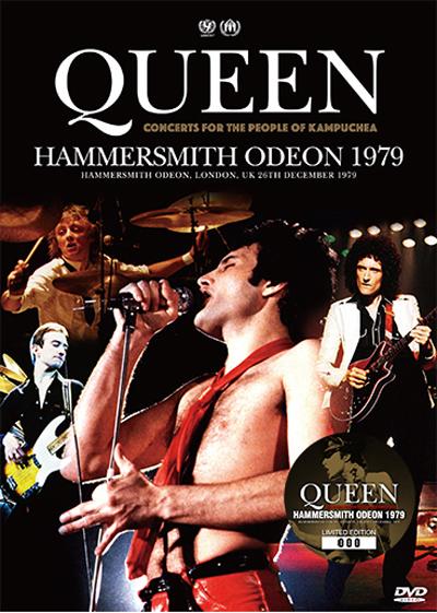 QUEEN - HAMMERSMITH ODEON 1979