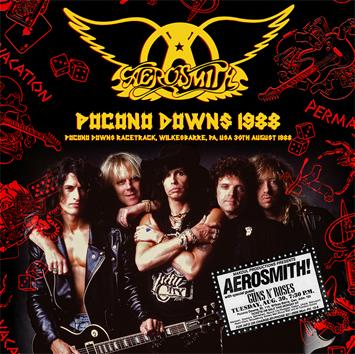 AEROSMITH - POCONO DOWNS 1988 (2CDR)