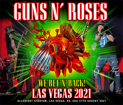 GUNS N' ROSES - LAS VEGAS 2021 (3CDR)
