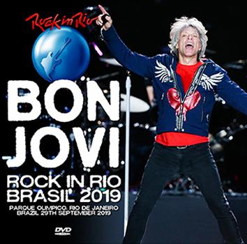 BON JOVI - ROCK IN RIO BRASIL 2019 (2DVDR)