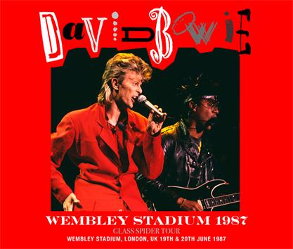 DAVID BOWIE - WEMBLEY STADIUM 1987 (4CDR)