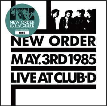 NEW ORDER - LIVE AT CLUB-D (1CD)