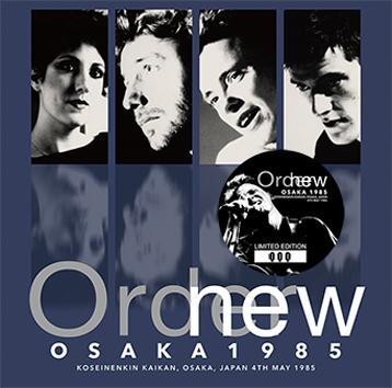 NEW ORDER - OSAKA 1985 (1CD)
