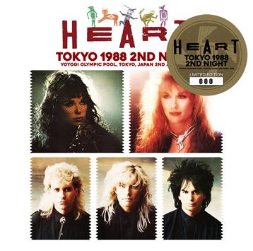 HEART - TOKYO 1988 2ND NIGHT (2CD)