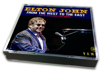 ELTON JOHN - FROM THE WEST TO THE EAST
