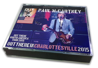 PAUL McCARTNEY - OUT THERE IN CHARLOTTESVILLE 2015