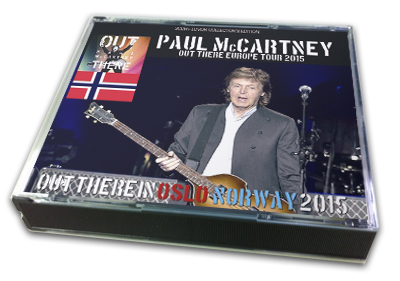 PAUL McCARTNEY - OUT THERE IN OSLO NORWAY 2015