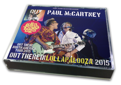 PAUL McCARTNEY - OUT THERE IN LOLLAPALOOZA 2015