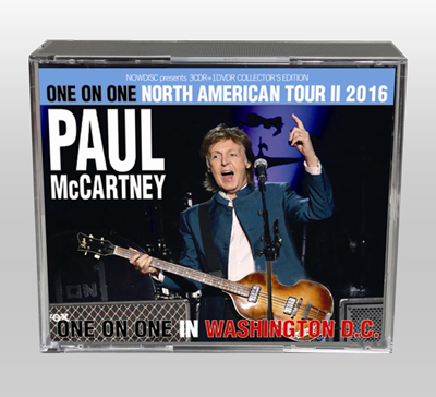 PAUL McCARTNEY - ONE ON ONE IN WASHINGTON D.C.